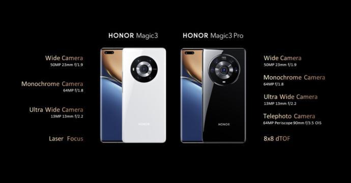 Honor Magic 3 Pro Kamera