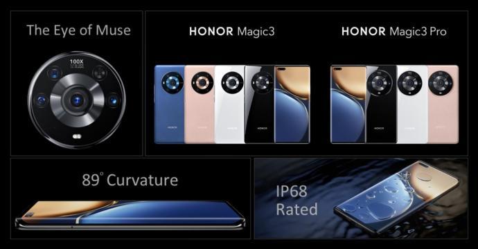 Honor Magic 3 Reihe