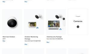 Nest Kameras 2021 Leak
