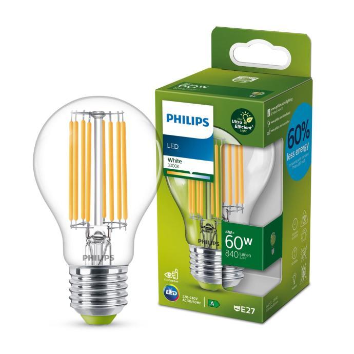 Philips Led Classic Bulb Clear 60w 3000k Product