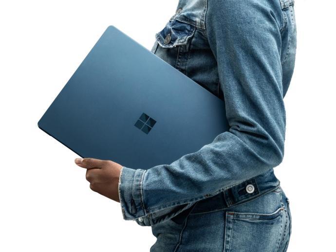 Surface Laptop Hand Header