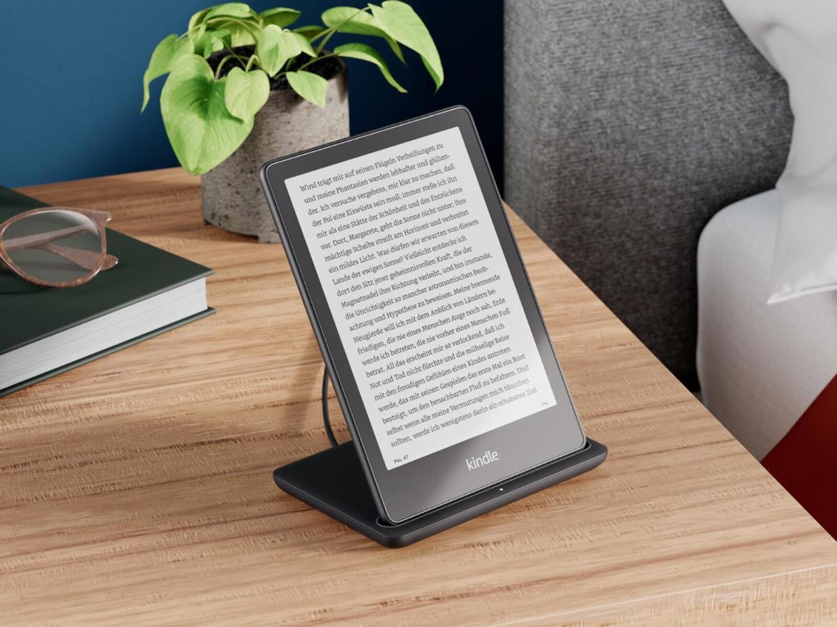 Amazon Kindle Paperwhite Siganture Edition Header