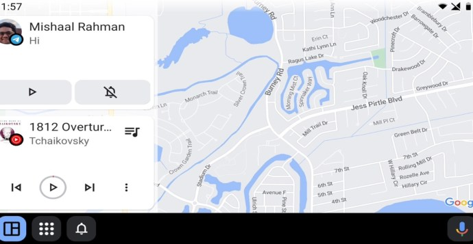 Android Auto Coolwalk Ui