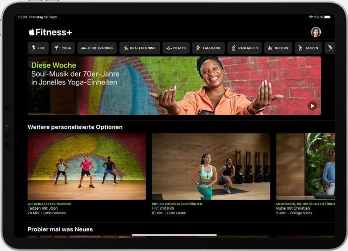Apple Fitness Plus Ipad