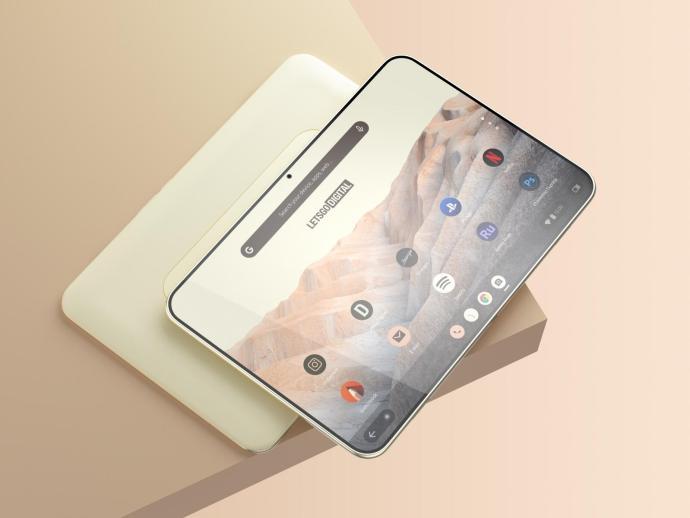 Google Pixel Tablet Render 2021