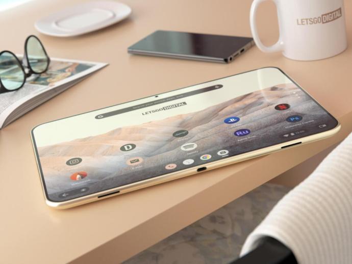 Google Pixel Tablet Render Header