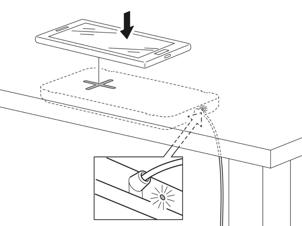 Ikea Sjoemaerke Qi Ladeplatte Anleitung
