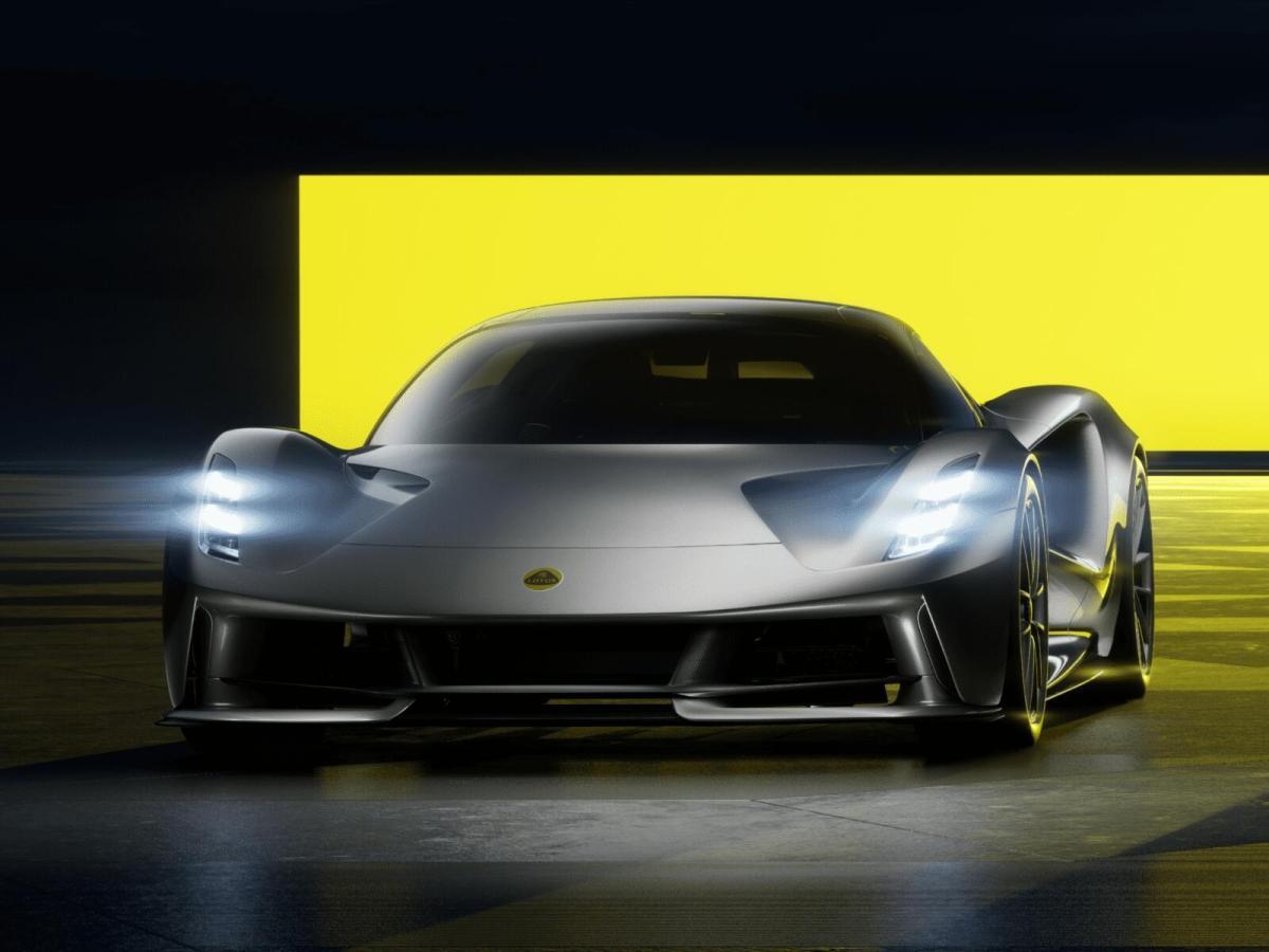 Lotus Elektro Sportwagen Header