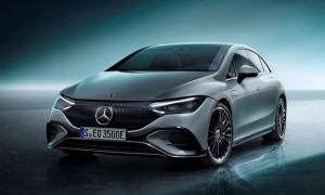 Mercedes Benz Eqe Front