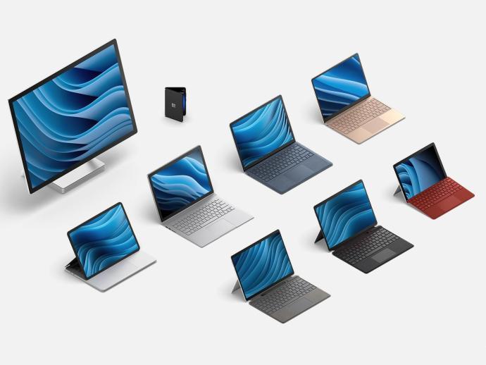 Microsoft Surface 2021 Header