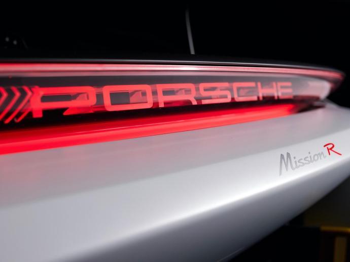 Porsche Mission R Logo Header