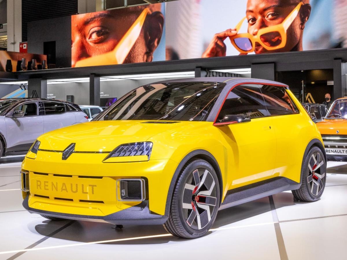 Renault 5 Iaa 2021 Konzept