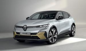 Renault Megane Elektro Leak Header