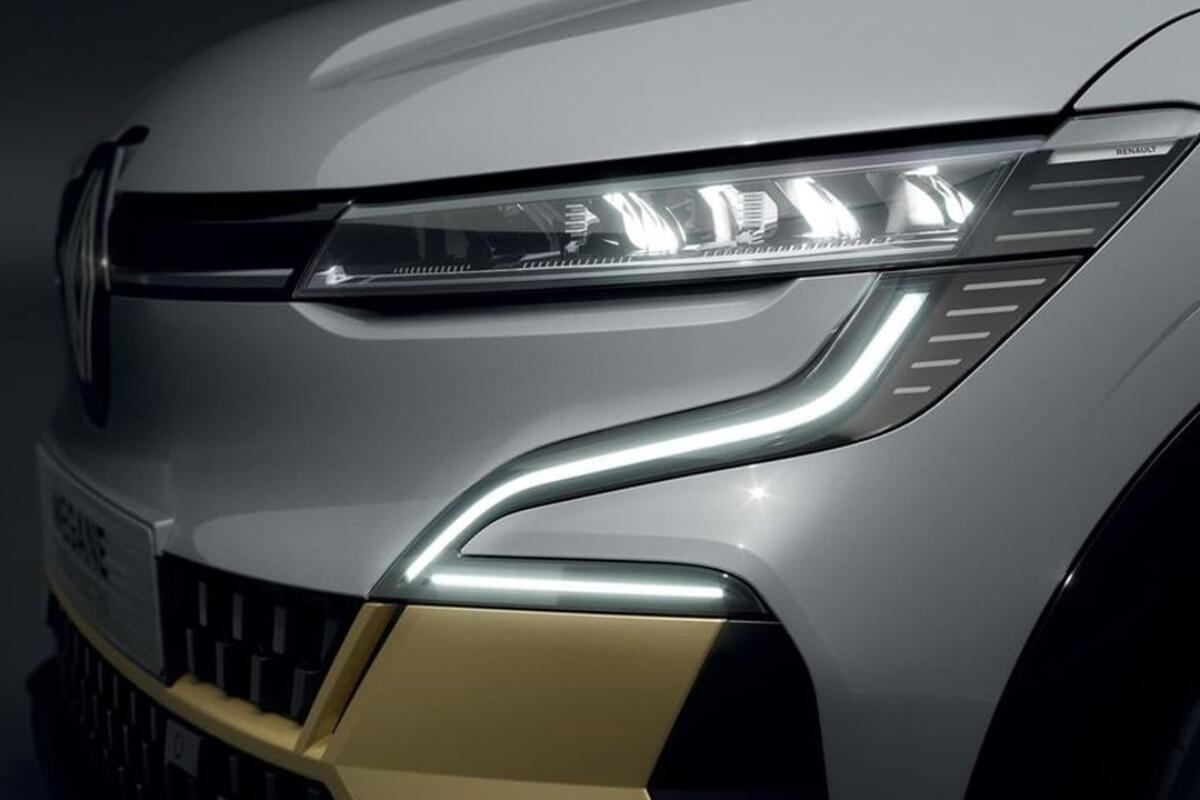Renault Megane Elektro Licht