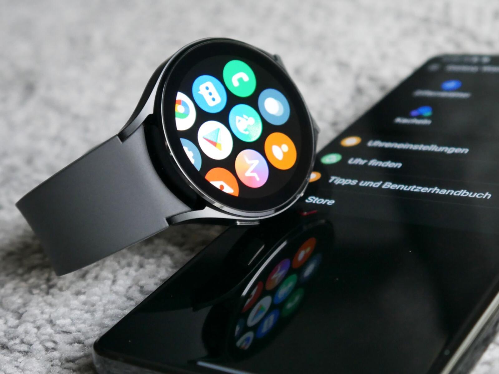 Samsung Galaxy Watch 4 App