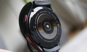 Samsung Galaxy Watch 4 Sensor