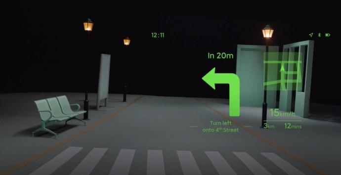 Xiaomi Smart Glasses Navigation
