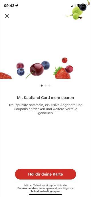 Kaufland Card App 1