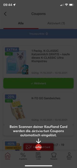 Kaufland Card App 2