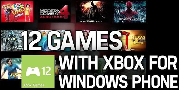 Gameloft-12-Games-WP8