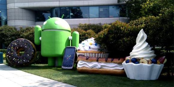 android-statues