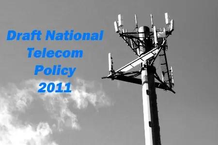 draft national telecom policy