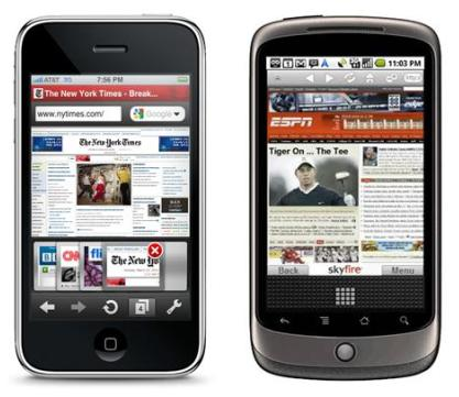 Android-browser-iOS-browser