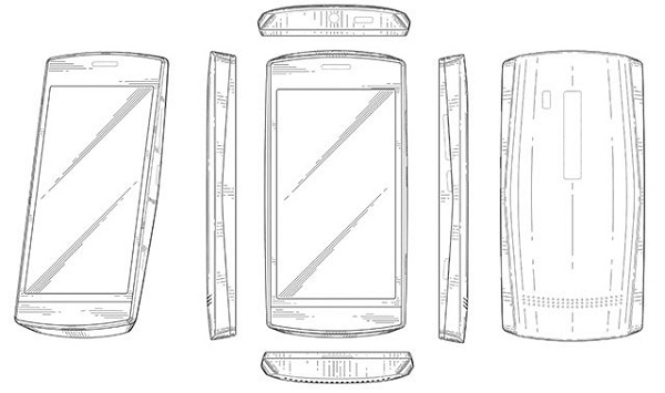 Upcoming Nokia Windows Phone revealed by design patent