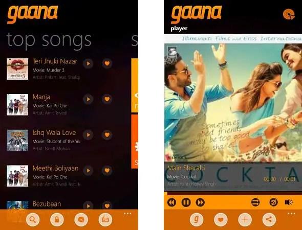 Gaana-windows-phone2