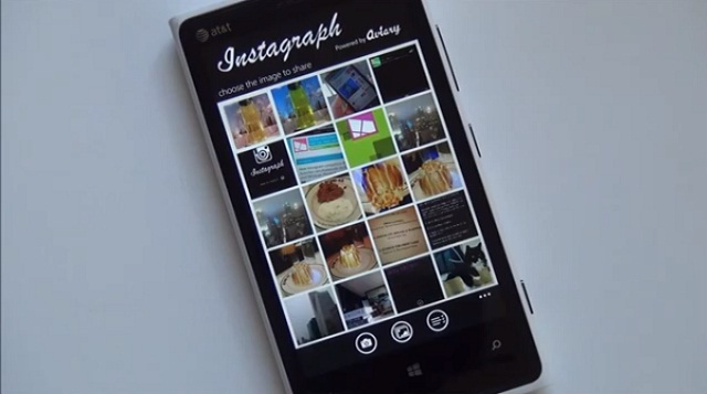 Instagraph on Windows Phone