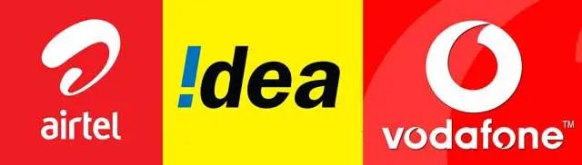 Airtel-idea-vodafone