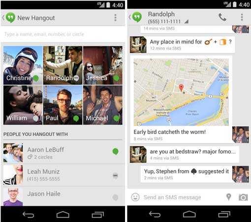 Google-Hangouts-SMS-support-Android