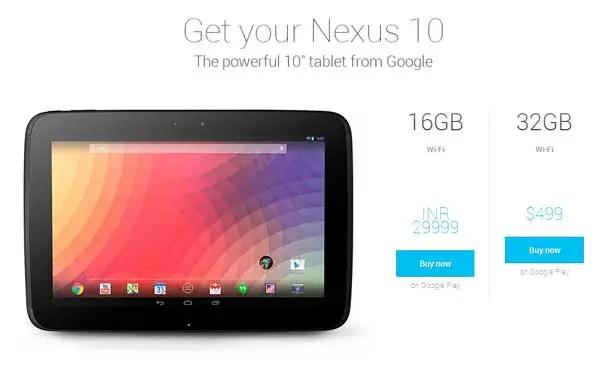 Nexus-10-India-play-store