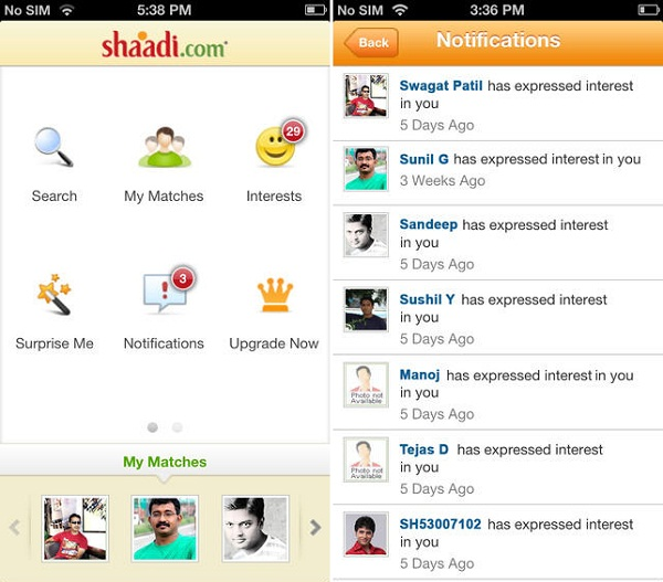 Shaadi.com-app