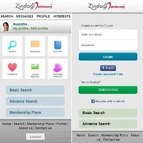 zindagi-matrimony-app