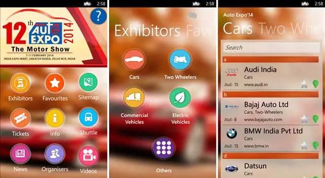 Auto-car-expo-2014-Windows-phone