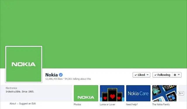 Nokia-green-Facebook