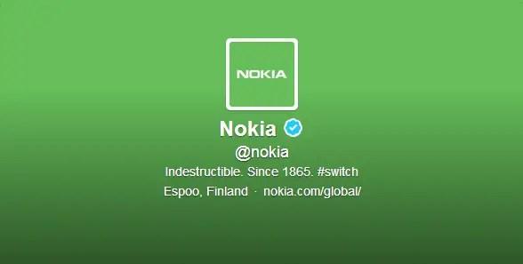 Nokia-green-Twitter