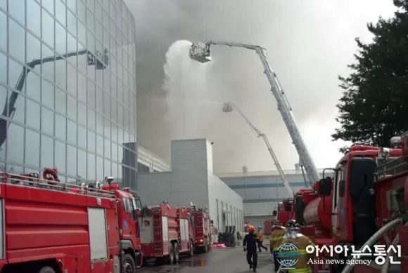 Samsung-Factory-fire