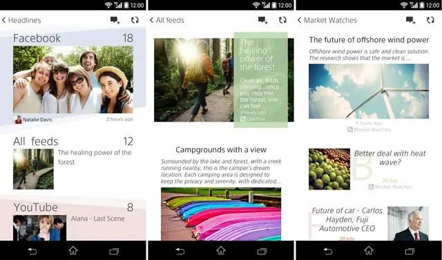 Sony-Social-life-app