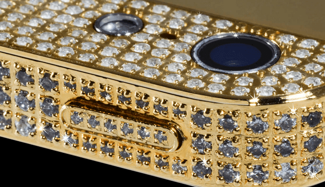 diamond-and-gold-encrusted-iPhone-5-6