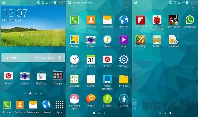 Samsung Galaxy S5 301
