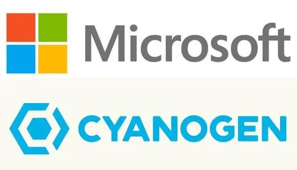 Microsoft-Cyanogen