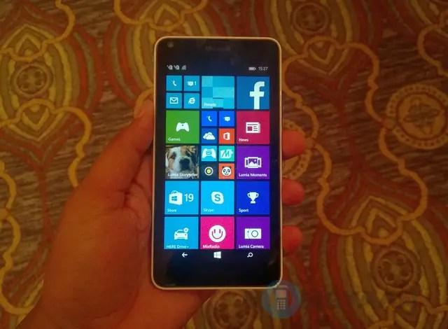 Microsoft Lumia 640 Hands on 1