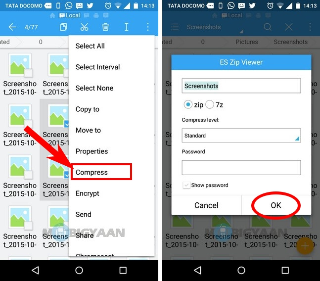 How to unzip files on Android phone easily