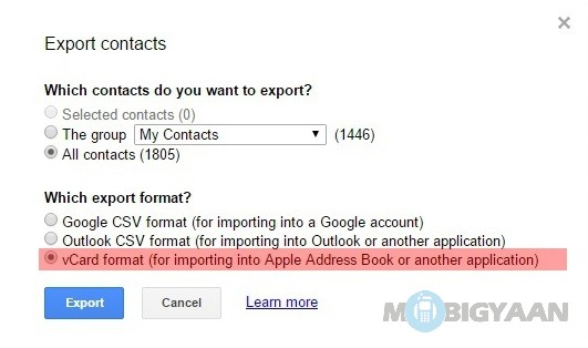 How-to-transfer-contacts-from-Android-to-iPhone-4