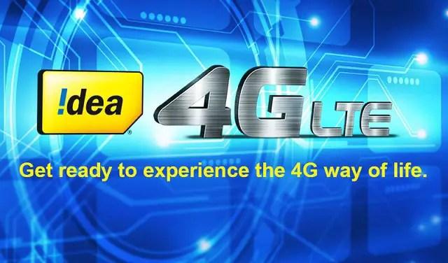 Idea-4G-launch-india