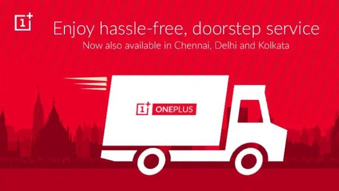 oneplus-doorstep-service-chennai-delhi-kolkata-launched