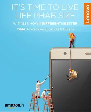 Lenovo-PHAB-2-Plus-India-launch-invite