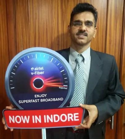 Airtel-V-Fiber-indore-launch